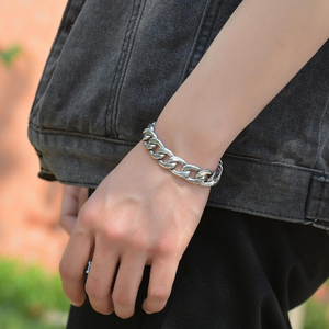 Stainless Steel CUBAN Chain (Waterproof) Bracelet - High Quality