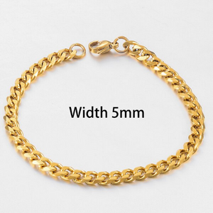 Anklet 5mm Thick Cuban Chain