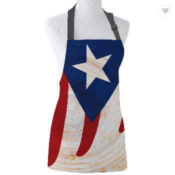 Puerto Rico Aprons (3 Styles and 2 Sizes)