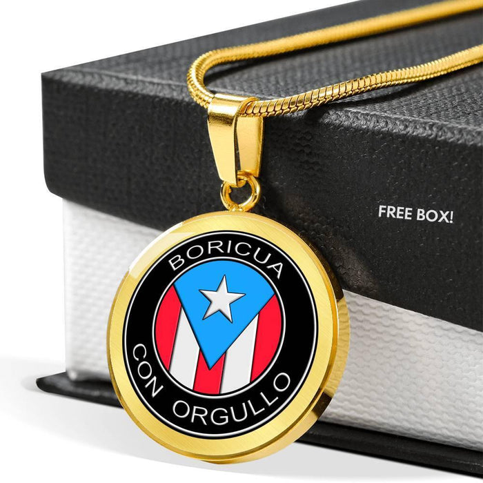 BORICUA Con Orgullo Necklace