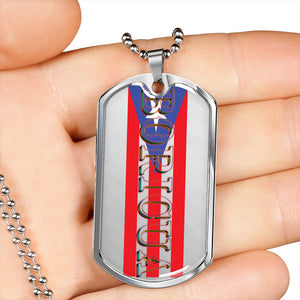 Boricua Dog Tag