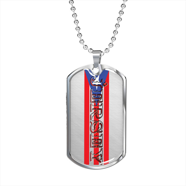 Jersey Dog Tag