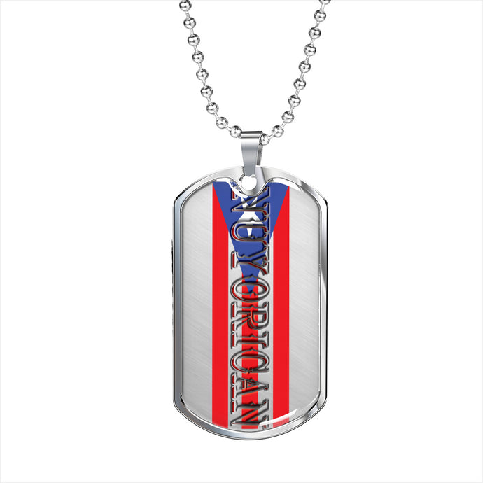NUYORICAN Dog Tag