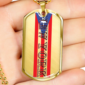 New York Dog Tag