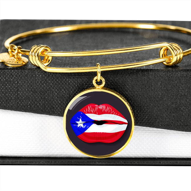 PR Lip Flag Bangle