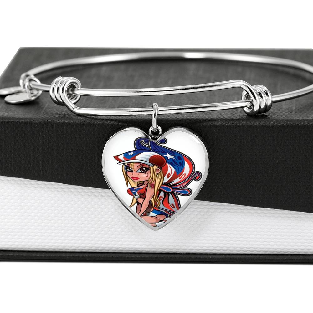 Boricua Fairy Bangle