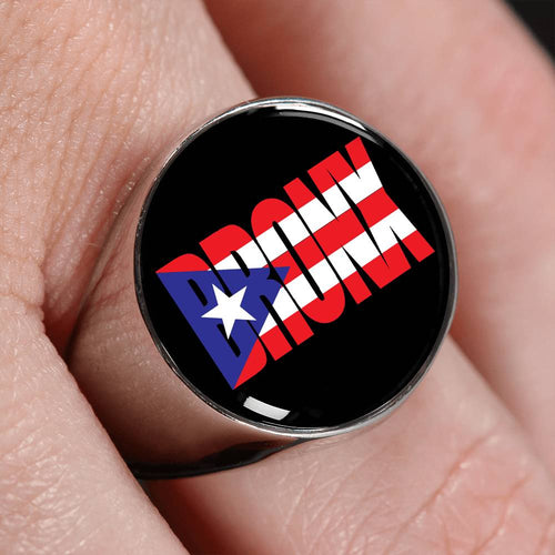 BRONX Flag Signet Ring