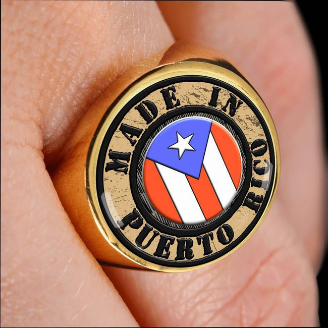 MADE IN Puerto Rico Ring