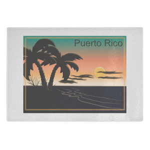 Cutting Board - Puerto Rico Sunset