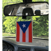 Car Flag - Embroidered Mirror Flag