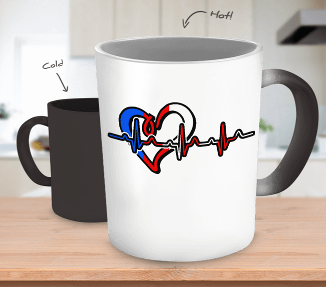 Coffee Mug - Puerto Rican Heart - Mug