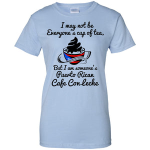 Ladies Tee - Cafe Con Leche 2 - Ladies Tee