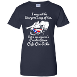 Ladies Tee - Cafe Con Leche - Ladies Tee