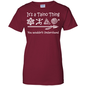 Ladies Tee - It's A Taino Thing - Ladies Tee