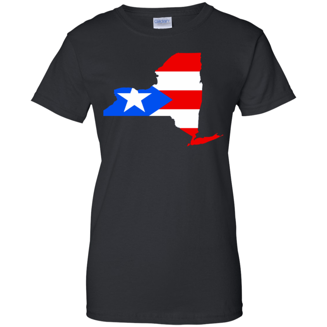 Ladies Tee - NY Rican - Ladies Tee