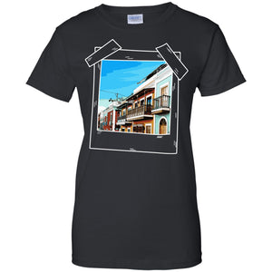 Ladies Tee - Old San Juan - Ladies Tee