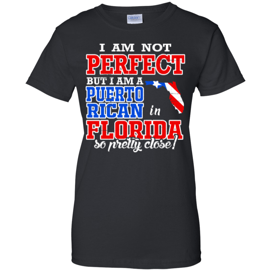 Ladies Tee - Puerto Rican In Florida - Ladies Tee