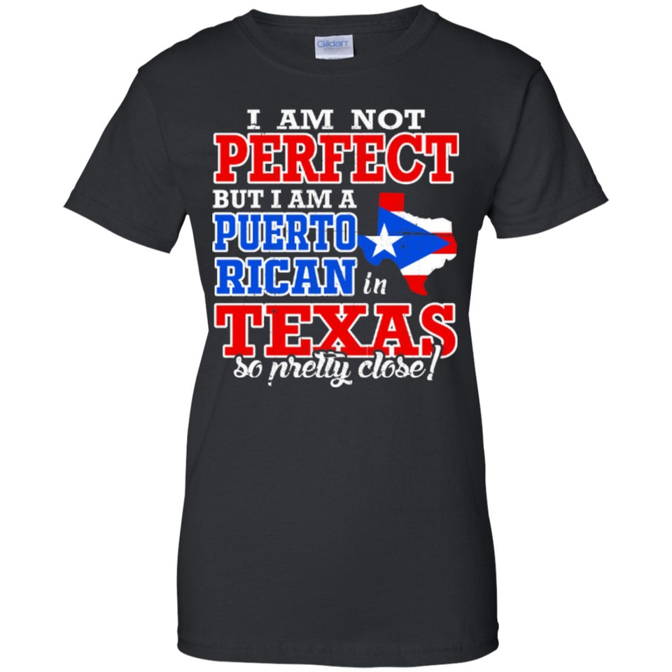 Ladies Tee - Puerto Rican In Texas - Ladies