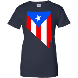Ladies Tee - Rican In Nevada - Ladies Tee
