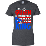 Ladies Tee - Taken By A Puerto Rican King - Ladies Tee