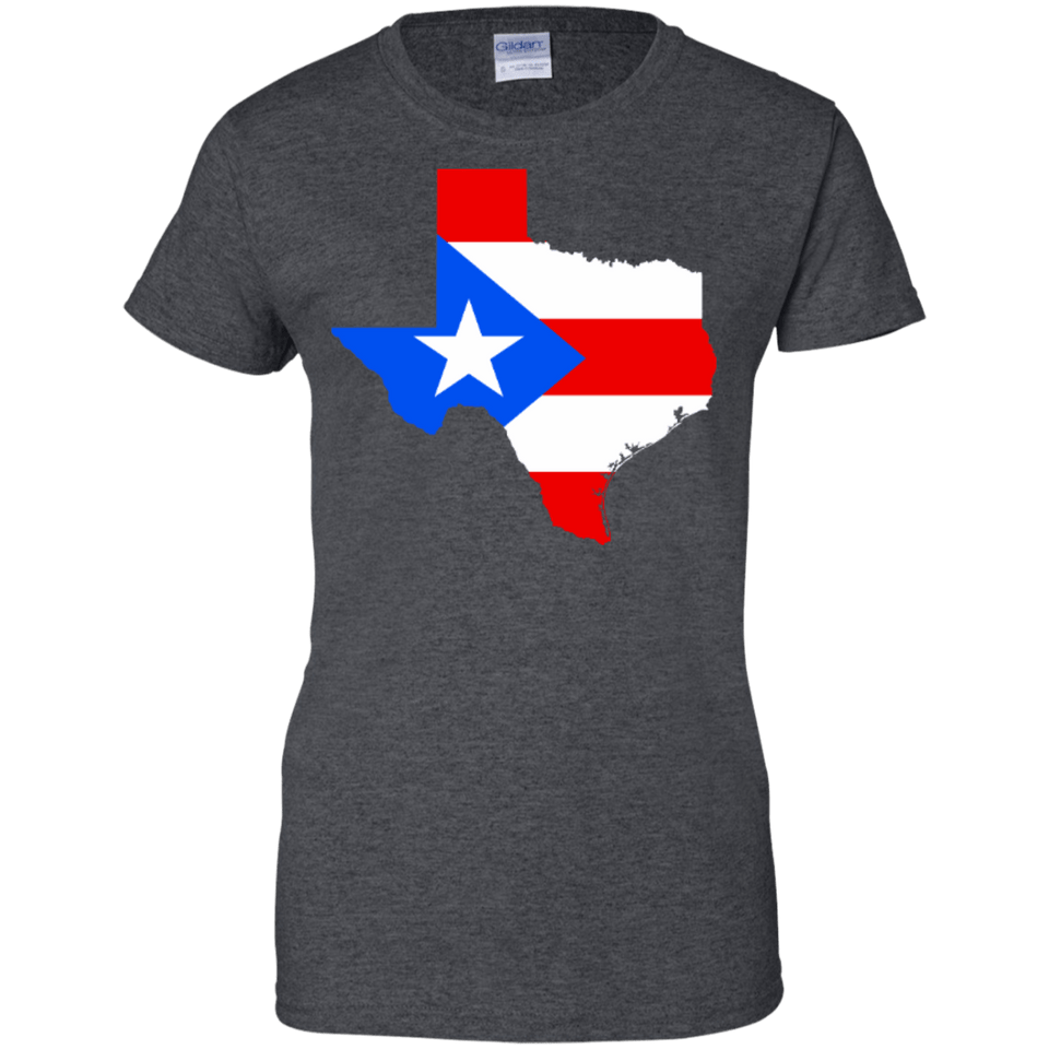 Ladies Tee - Texas Rican - Ladies Tee