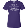 Ladies Tee - The Boricua Rules - Ladies Tee