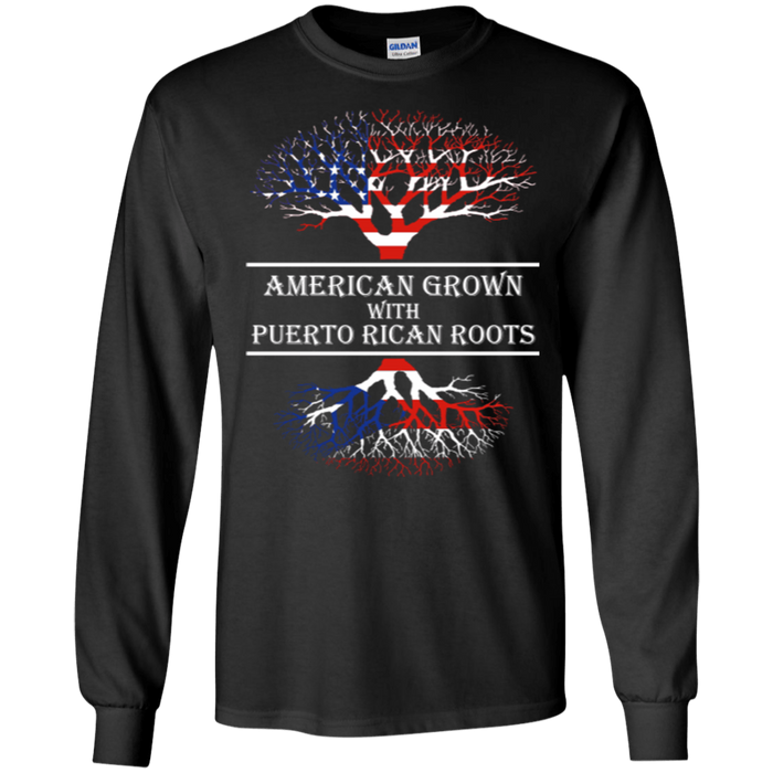 Long Sleeve - American With Puerto Rican Roots - Long Sleeve