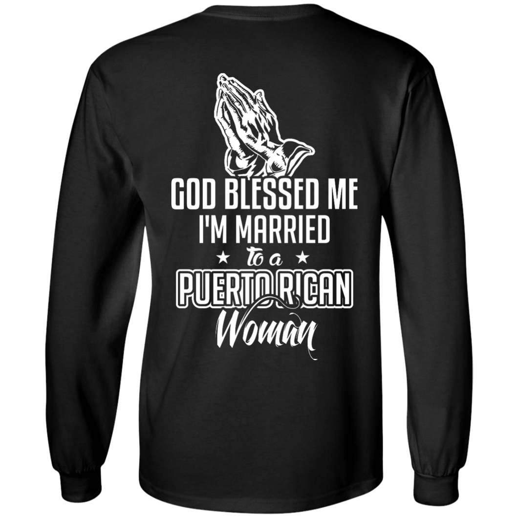 Long Sleeve - Married & Blessed - Long Sleeve