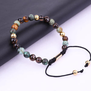 Mixed Natural Stone Bracelet