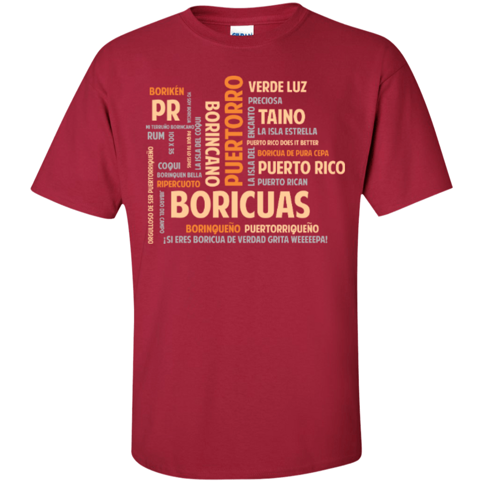 Shirt - All About Boricuas