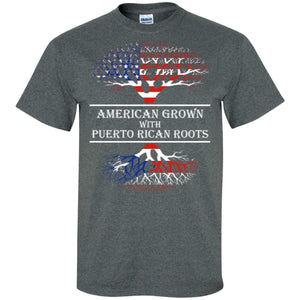 Shirt - American With Puerto Rican Roots