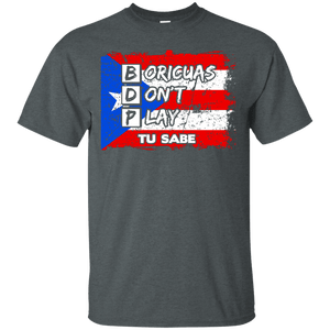 Shirt - Boricuas Don't Play