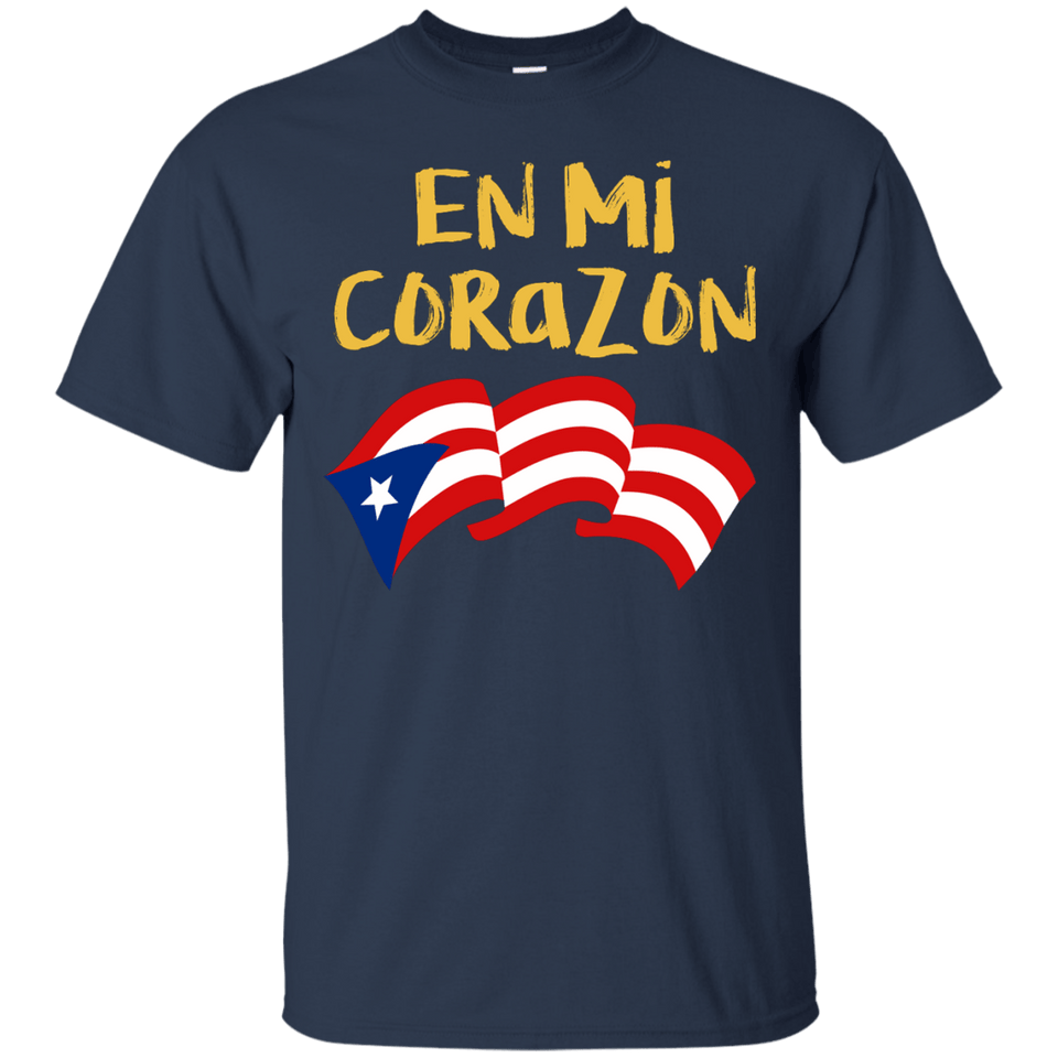 Shirt - En Mi Corazon - Back To Back