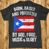 Shirt - God, Food, Music & Glory