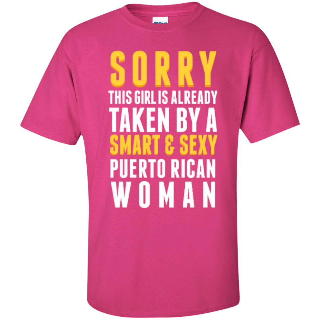 Shirt - Taken By A Puerto Rican Woman (Girl Version)
