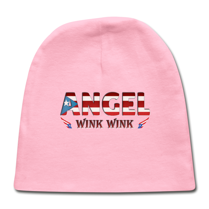Angel Wink Baby Cap - light pink