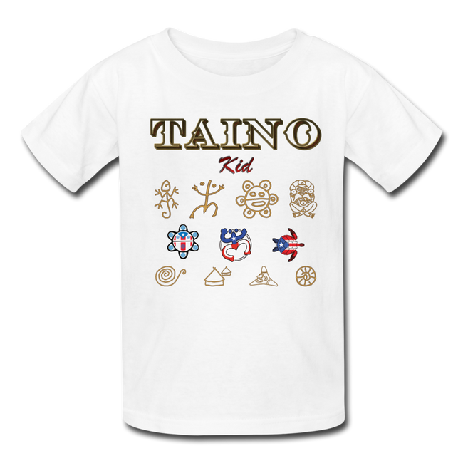 Taino Kid T-Shirt - white