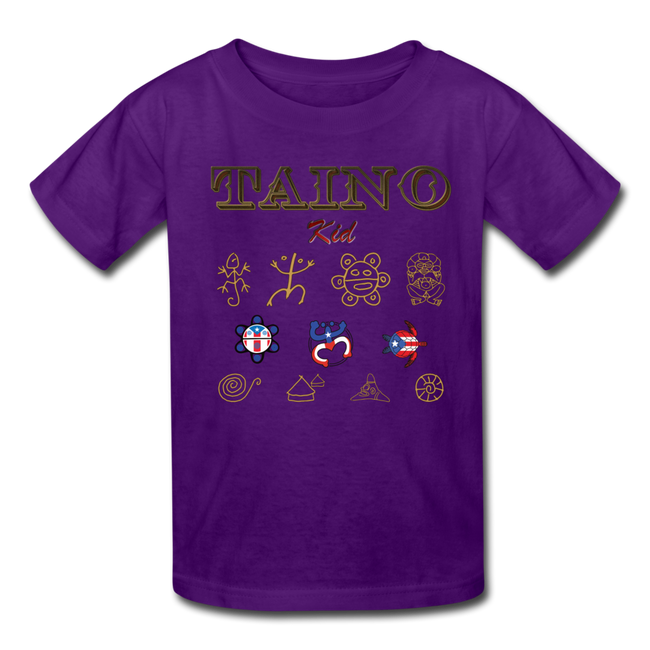 Taino Kid T-Shirt - purple
