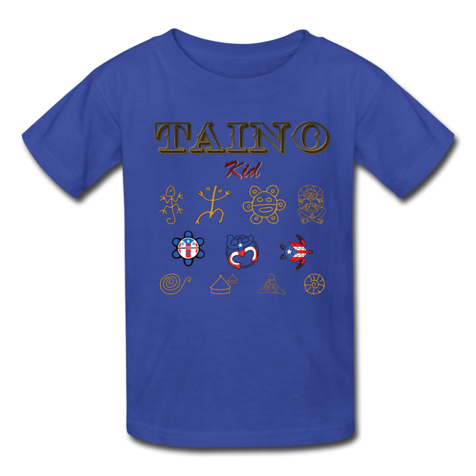 Taino Kid T-Shirt - royal blue
