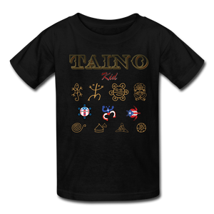 Taino Kid T-Shirt - black