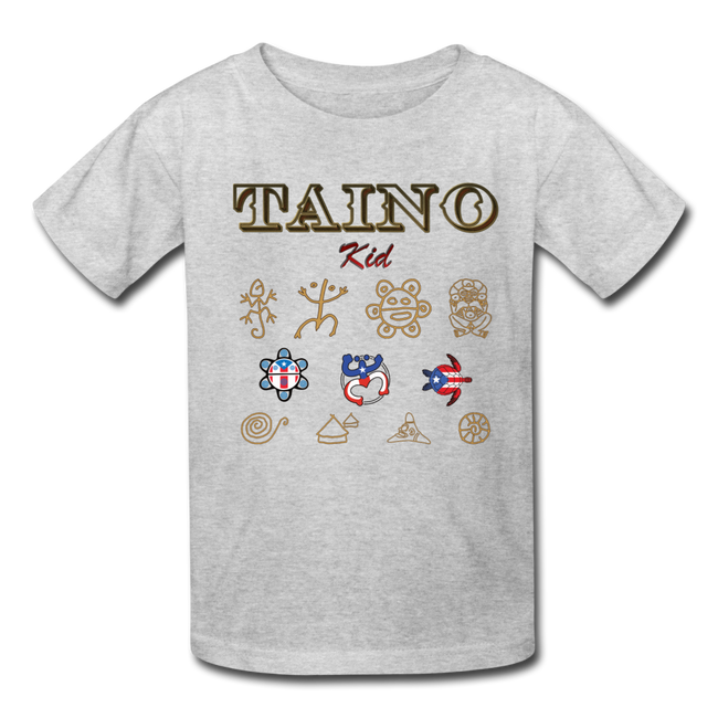 Taino Kid T-Shirt - heather gray