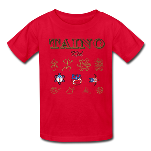Taino Kid T-Shirt - red