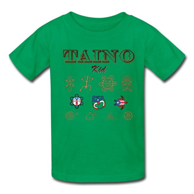 Taino Kid T-Shirt - kelly green