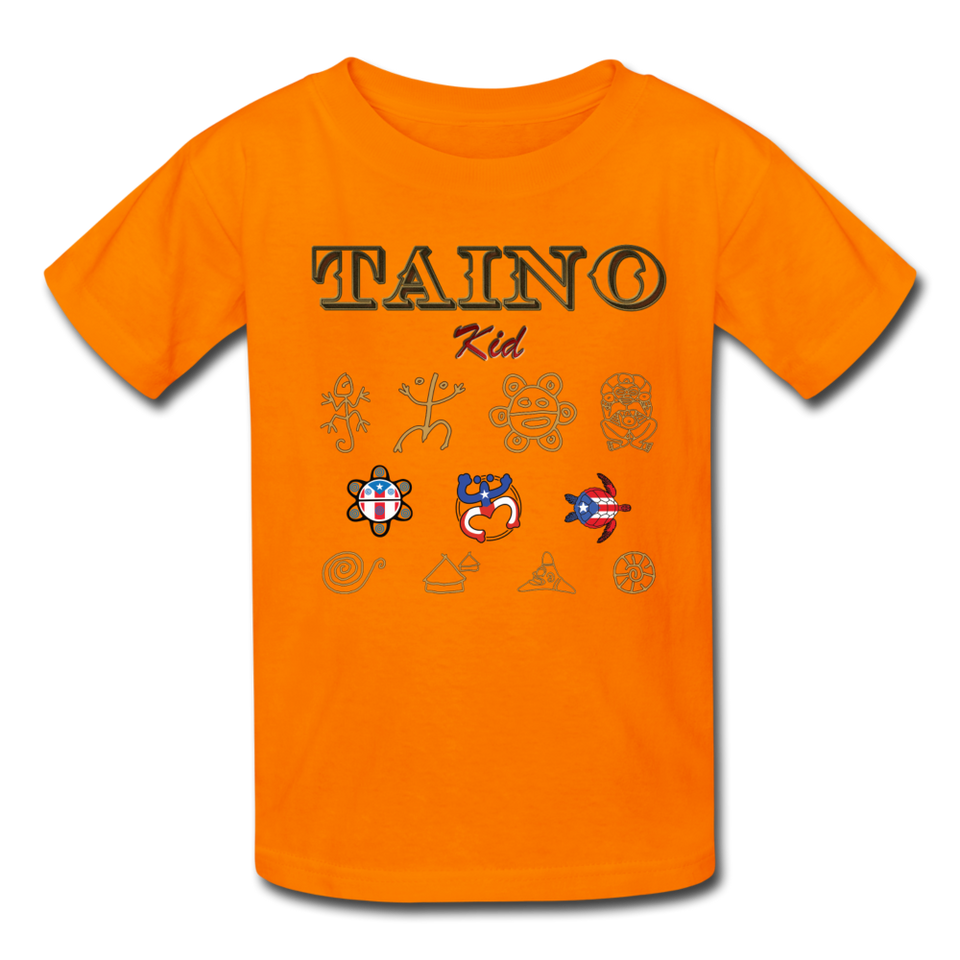Taino Kid T-Shirt - orange