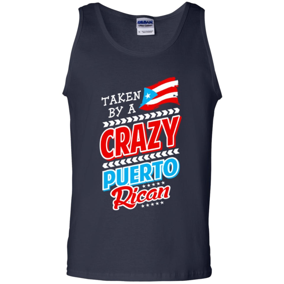 Tank Top - Crazy Puerto Rican - Tank Tops