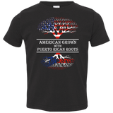 Toddler Tee - American With Puerto Rican Roots - Toddler Tee