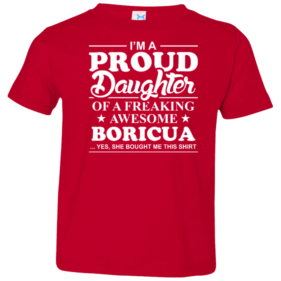 Toddler Tee - Proud Daughter - Toddler Tee