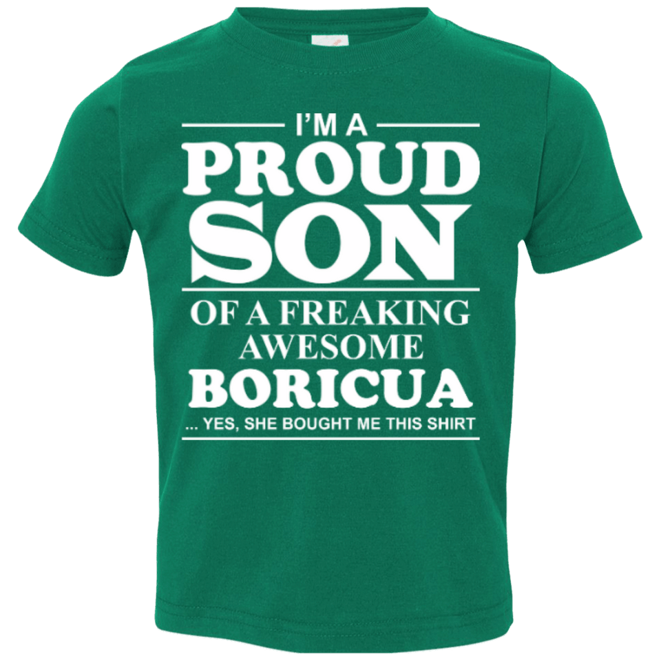 Toddler Tee - Son Of A Boricua - Toddler Tee