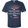 Youth Tee - American With Puerto Rican Roots - Youth