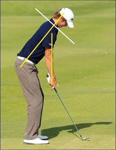 posture golf golfers spine alignment